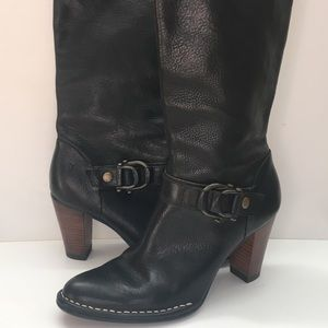 Frye Catherine Tall Leather Boots 8.5 M